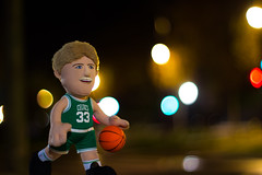 Larry Legend (Lens a Lot) Tags: paris | 2016 carl zeiss planar 50mm 14 t aej mid 70s 6 blades iris cy mount f14 larry bird poupluche nba basket bokeh depth field toy close up vintage manual german west fixed length prime lens