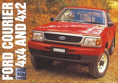 1997 Ford Courier (Hugo-90) Tags: ford 1997 courier pickup truck mazda 25 diesel 26 petrol ads advertising brochure catalog