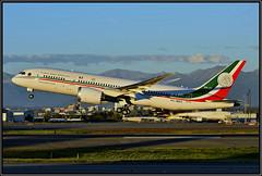 "XC-MEX Fuerza Area Mexicana ""Jos Ma. Morelos y Pavn"" (Bob Garrard) Tags: g7 summit xcmex fuerza area mexicana josmamorelosypavn boeing 787 dreamliner anc panc"