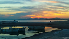 sunset at palaio faliro (Love me tender .**..*) Tags: dimitrakirgiannaki photography samsunggalaxya5 sunset autumn colors sea greece boats 2016 peace refl europe romantic