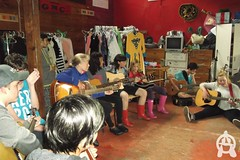"DSCF0033 (Brittany ""Aviia"" Forsyth) Tags: ontario canada muskokas baysville cairn camp camping kids summer glenmhor payitforward music art dance drama madd"