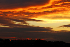 Autumn Sunset 2016 klein (dtroi17) Tags: season autumn sunset sky colorful jahreszeit herbst sonnenuntergang farben himmel