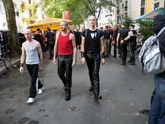 Folsom Berlin 2009 - 3987 (blacknshiny) Tags: leatherman folsom leatherjeans fullleather leather
