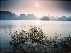 Quan Son (Nam Vu Ha) Tags: my duc ha tay t42016 pentax645n smc pentaxa 35mm f35 ektar 100 fujifilm sp3000 quan son lake sunset lan landscape ana analog film koda kodak medium format 645 pentax singhray gnd reverse 3stop