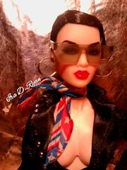 OOOOOOH LAWD (krixxxmonroe) Tags: ira d ryan photography krixx monroe styling fashion royalty nu face fr2 opium ayumi black brocade suit by the vogue hong kong
