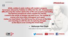 Maharaja Hari Singh (FINS India) Tags: maharaja hari singh india pakistan mountbatten jammu kashmir shri srinagar
