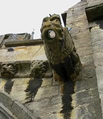 Gargoyles in detail (Dun.can) Tags: gargoyles grotesque church allsaints oakham rutland medieval art