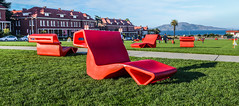 new red lawn chairs (pbo31) Tags: presidio sanfrancisco california nikon d810 color october fall 2016 boury pbo31 panoramic large stitched panorama mainpost paradegrounds green lawn red chairs