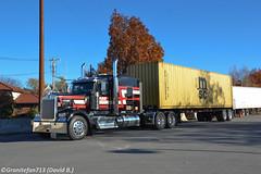 Naro Enterprises Kenworth W900L (Icon 900) (Trucks, Buses, & Trains by granitefan713) Tags: truck tractortrailer trucktractor bigtruck bigrig kenworth kenworthw900 kenworthw900l w900l newtruck icon900 iconedition container containerhauler sleeper sleepertractor