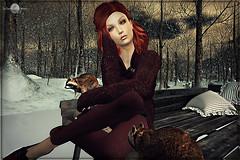 Winter chill out (MISS V ANDORRA 2016 - MISSVLA ARGENTINA 2017) Tags: thefrozenfair2016 kibdesign avatar secondlife sl slfashionblogger mesh winter pets animals models modeling topmodel blogger blog blogging casualstyle styling roxaanefyanucci lesclairsdelunedesecondlife lesclairsdelunederoxaane headmesh flickr firestorm