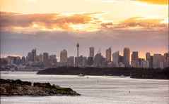 """ SYDNEY "" (Rein Domingo) Tags: nikon d810 70200mm sunset city sydney australia fairfax lookout"