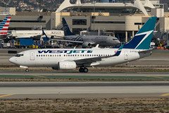 WestJet / B737 / C-FTWJ / KLAX (_Wouter Cooremans) Tags: lax los angeles international airport losangelesinternationalairport klax spotting spotter avgeek aviation airplanespotting westjet b737 cftwj