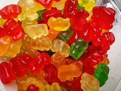 Mini Gummi Bears Candy (Victor Wong (sfe-co2)) Tags: mini gummi bears candy lolly sweets colorful jelly