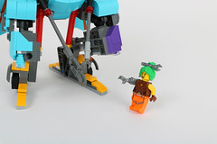 Wrench and HARVey (toothdominoes) Tags: lego mech dieselpunk moc
