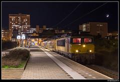 NSR 1777 + 7207 - 5456 (Spoorpunt.nl) Tags: 3 december 2016 1777 ddm1 7207 sprinter 5456 station zandvoort aan zee avond nacht