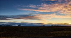 Cloudy Skies near Keflavík (bacon.dumpling) Tags: nearkeflavík iceland cloud cloudy dusk landscape nikond750 nopeople nobody onthemove outdoor scenic sigma24mmf14dghsmart sky sunset