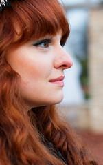 EOS 70D_8099 (Raymond Loyal) Tags: portrait kopfportrait head face faces gesichter gesicht haare augen nase mund frau outdoor people street streetfotografie künstlerin shooting