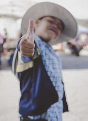 POW (instagram: @ayegaem) Tags: people kids cowboy portrait a6000 sonyalpha sigma