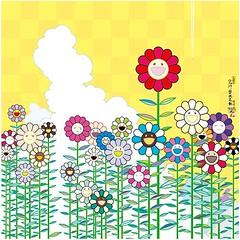 Takeshi Murakami - Poka Poka (Ode To Art) Tags: happy flowers floral yellow smile cheerful pop cartoon japanese art print takashimurakami