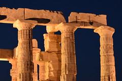 Temple Of Poseidon (Kotsikonas Elias) Tags: nikon d3300 architecture column colonnade arch ruins ancient outdoor temple poseidon templeofposeidon athens greece