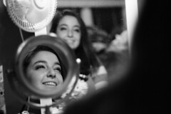 Mirror (pronoobphoto) Tags: reflection mirror black white bw greyscale grey beauty portrait
