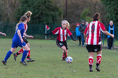 Altrincham LFC vs Stockport County LFC - December 2016-141 (MichaelRipleyPhotography) Tags: altrincham altrinchamfc altrinchamlfc altrinchamladies alty amateur ball community fans football footy header kick ladies ladiesfootball league merseyvalley nwrl nwrldivsion1south nonleague pass pitch referee robins shoot shot soccer stockportcountylfc stockportcountyladies supporters tackle team womensfootball