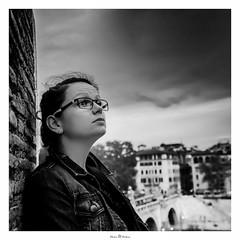 Portrait (Photo Holica) Tags: castelsant´angelo rom 7m2 bw black white za zeiss alpha backlight sony variotessartfe41635 portrait