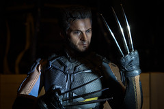 DSC_6614 (Quantum Stalker) Tags: xmen wolverine mutant hot toys days future past scale hugh jackman adamantium claws skeleton indestructible