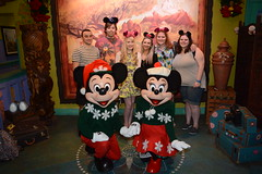Aniaml Kingdom (Elysia in Wonderland) Tags: elysia florida orlando disney world 2016 holiday animal kingdom meeting meet greet character mickey minnie mouse christmas festive jumpers adventure outpost pete becca clinton lucy amy