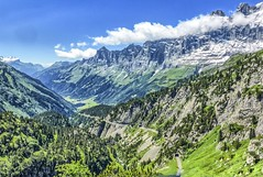 Sustenpass (2224 m) - western side (frodeturer (check albums for themes / places)) Tags: alps alpen alpine schweiz switzerland road motorcycle motorcycletouring motorbike tarmac tunnel canton