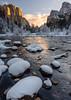 Winter Sunrise, Gates Of The Valley, Yosemite (Basak Prince Photography) Tags: california gatesofthevalley places yosemitenp landscapephotography natinoalpark nationalparks snow sunrise winter yosemite yosemitenationalpark nikonflickraward