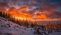 Early Winter Sunrise (dwolters2) Tags: mountians bethelridge sunrise winter snow pentax k1 f28 1530
