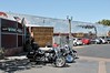 Americana - Old Town Temecula, CA (Esther Spektor - Thanks for 12+millions views..) Tags: california temecula oldtown wall mural railroad train car vehicle lantern plaza sign motorcycle art sky availablelight americana parking