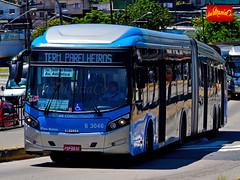 6 3046 Mobibrasil (busManíaCo) Tags: busmaníaco nikond3100 nikon d3100 ônibus urbano caioinduscar caio millennium brt articulado mercedesbenz o500uda bluetec 5 mobibrasil