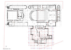 477C Further Extension to Galeri Caernarfon-Overall Ground Floor Plan