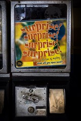 (365/366) 25¢ Surprise (CarusoPhoto) Tags: iphone 7 plus john caruso carusophoto photo day project 365 366 gumball machine surprise vending mystery banal mundane ordinary everyday