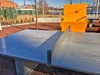 Dock 79 Plaza 2017-01-08 at 8.01.57 AM 2_edit (krossbow) Tags: washington dc seating plaza park outdoor oculuslandscaping oculus architecture dock 79 design capitol riverfront anacostia river umpire chair ping pong table net photolemur