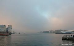 Het IJ 29-12-16 (kees.stoof) Tags: hetij ij amsterdam mist