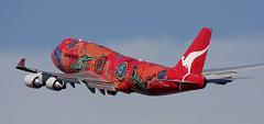 B747 | VH-OEJ | SYD | 20080101 (Wally.H) Tags: boeing 747 boeing747 b747 vhoej qantas wunaladreaming syd yssy sydney kingsfordsmith airport