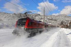 ÖBB 1116 155 Railjet, Kufstein (michaelgoll777) Tags: öbb taurus 1110 1016