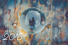 Happy New Year! (pixelmama) Tags: peace reflection orbology crystalball pixelmama pescadero california beanhollowbeach hello2017 goodbye2016 peaceout happynewyear