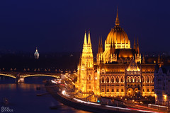 Parlament (dorigond) Tags: housesofparliament hungary budapest bluehour night lights outdoor