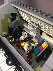 Zombian Restaurant (Mr.Savath_Bunny) Tags: bunny halloween walking dead death restaurant living funny lego zombie master gore horror series buffy collectables fighters parisian builder expert minifingure