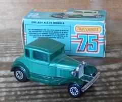 Matchbox Model A Ford (ukdaykev) Tags: green ford car modela vintage toy classiccar vintagecar ebay mib toycar matchbox superfast modelaford forsaleonebay matchboxsuperfast mb73 matchbox175