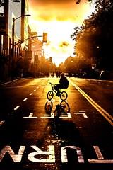 Oakland 2010 (Thomas Hawk) Tags: california sunset usa bike bicycle oakland riot unitedstates fav50 unitedstatesofamerica protest eastbay riots fav10 fav25 fav100 oscargrant oaklandriots johannesmersehle oaklandca070810 oaklandriots2010