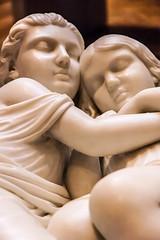 Sleeping Siblings (Cissa Rego) Tags: sculpture art museum vintage nikon nikond70s artmuseum bournemouth bournemouthpier eastcliff artphotography marblesculpture bournemouthbeach nikondslr russellcotes russellcotesmuseum