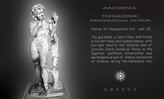 Greece, Macedonia  Thessaloniki Archeological Museum, statue of Harpocrates (Macedonia Travel & News) Tags: macedonia ancient culture vergina sun thessaloniki orthodox republic nato eu fifa uefa un fiba greecemacedonia macedonianstar verginasun aegeansea macedoniapeople macedonians peopleofmacedonia macedonianpeople mavrovo macedoniablog 78010527 macedoniagreece makedonia timeless macedonian macédoine mazedonien μακεδονια македонија travel prilep tetovo bitola kumanovo veles gostivar strumica stip struga negotino kavadarsi gevgelija skopje debar matka ohrid heraclea lyncestis macedoniatimeless