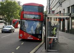 Go Ahead London LT55 LTZ1055 Wrightbus NBFL (chrisbell50000) Tags: new uk england bus london ahead general united go kingdom 11 victoria double deck routemaster wright hybrid decker goahead wrightbus nbfl lt55 newbusforlondon borismaster chrisbellphotocom ltz1055