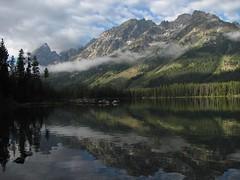 Leigh Lake, Grand Teton National Park (redbikegirl) Tags: nature landscapes hiking wyoming grandtetonnationalpark leighlake