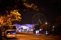DSC_2349 (ppeng@yahoo) Tags: street night 50mm nikon taipei 50mmf14d d810 taipeichildrensamusementpark 台北兒童新樂園